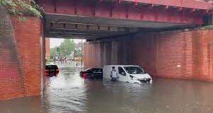 Flash Flood on London