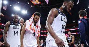 USA basketball team loses